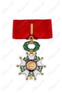Légion d'honneur Commandeur Croix bronze avec écrin