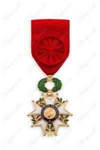Légion d'honneur Officier Croix bronze dorée