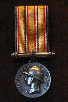 Médaille d'Honneur des Sapeurs-Pompiers