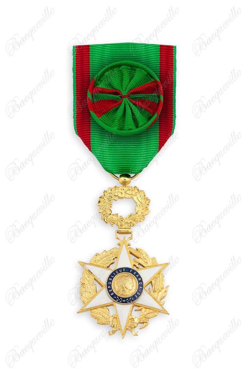 Ruban moiré pour Ordre du mérite France