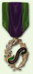 Bacqueville Médaille Encouragement public : chevalier