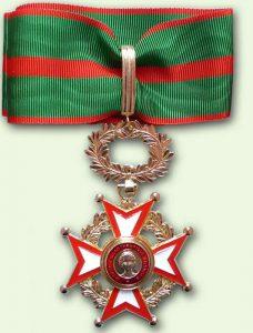 Bacqueville Médaille Mérite philantropique : commandeur