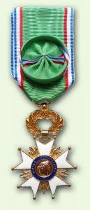 Bacqueville Médaille Oeuvre humanitaire : officier