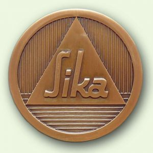Médaille personnalisée : SIKA