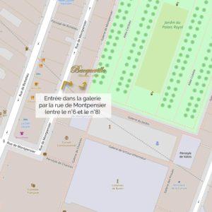 Bacqueville, accès Palais Royal